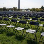 Covid 19 Survivors Set Up 20 000 Empty Chairs Near The White House To Remember The More Than 200 000 Coronavirus Victims Cnn