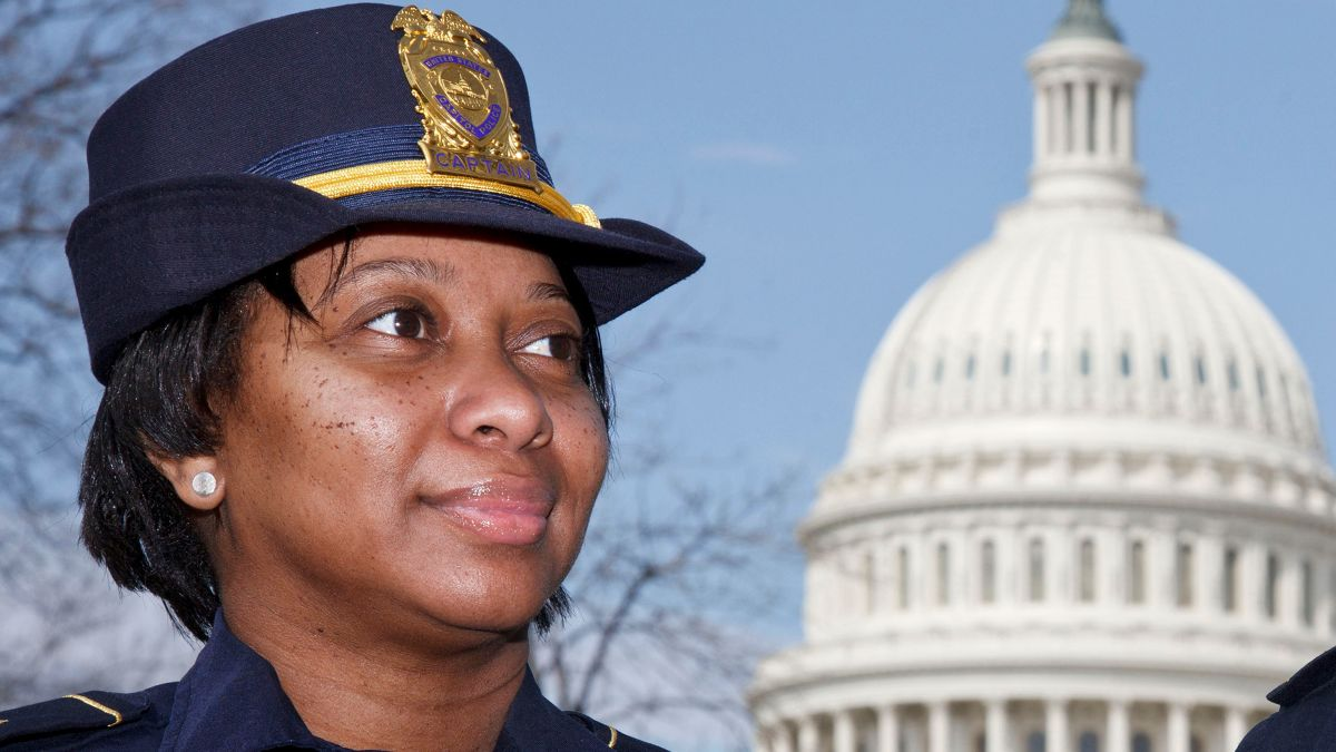 Capitol Police Name 1st Black Woman Yogananda Pittman, As Acting Chief After Riots