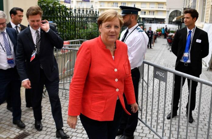 German Chancellor Angela Merkel said her priority is resolving the conflict between Russia and Ukraine.