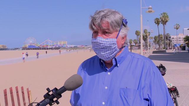 Santa Monica Mayor Kevin McKeown