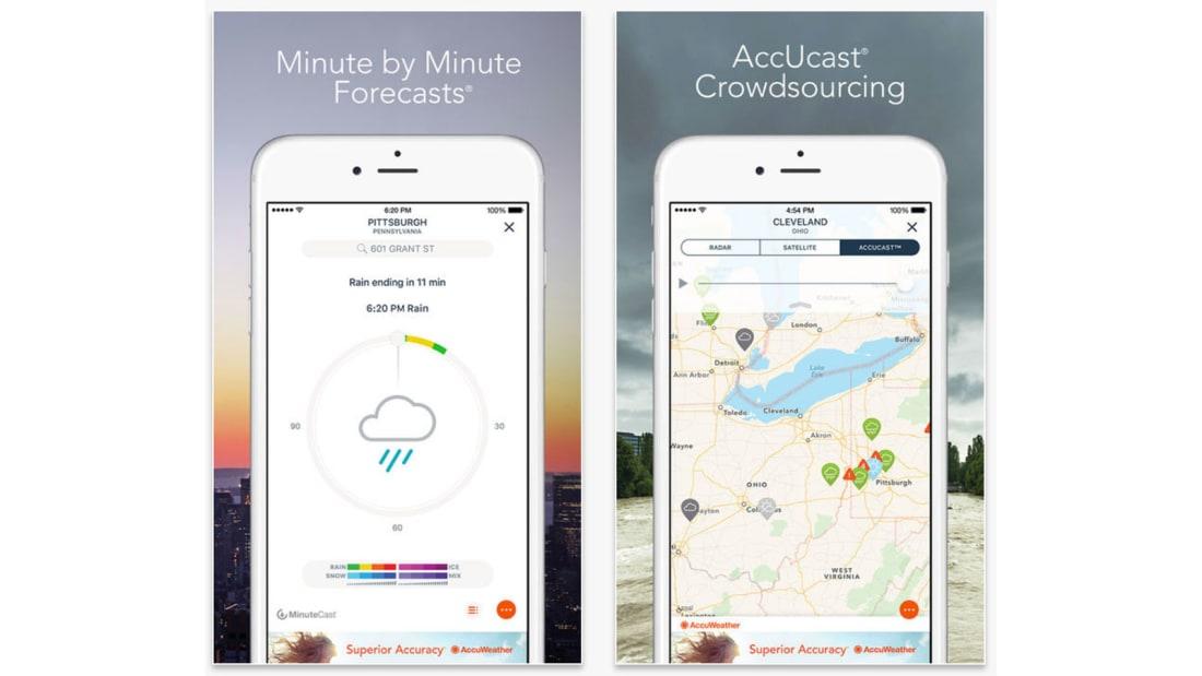 Best travel apps Accuweather