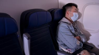 Wearing a mask onboard is still important for both vaccinated and unvaccinated passengers.