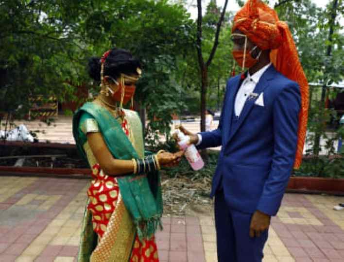 what covid-19 means for india's 'big fat weddings' - cnn style