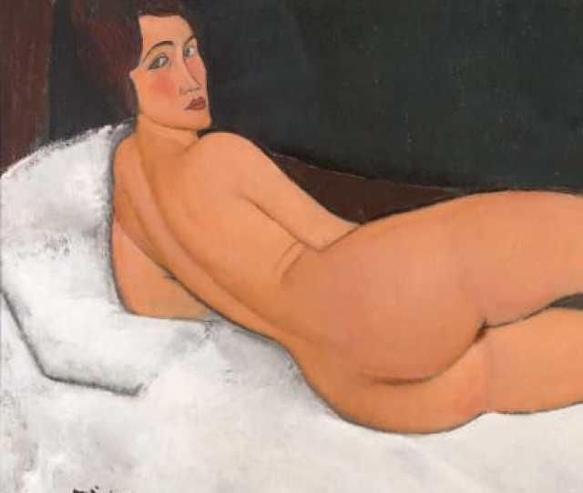 Nude 1917 By Amedeo Modigliani