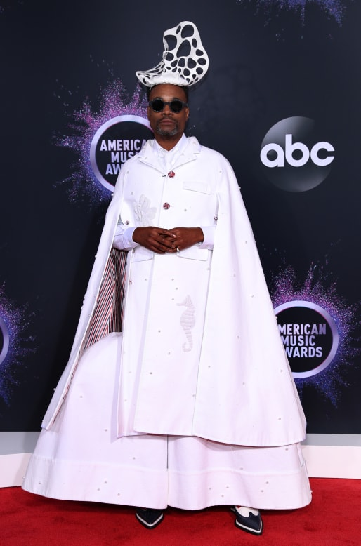 Billy Porter attends the 2019 American Music Awards at Microsoft Theater on November 24, 2019 in Los Angeles, California.