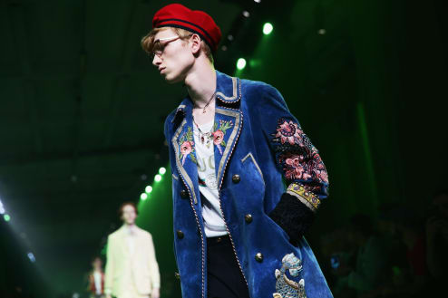 gucci milan fashion week mens