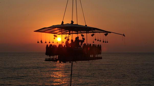 dubai sky high dining dinner in the sky