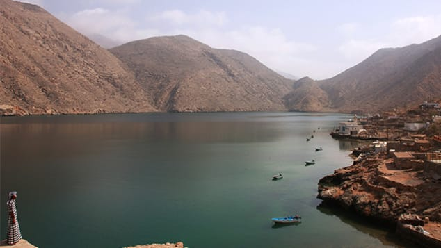 Don't worry: Oman's scenic fjords are warmer than the name implies.