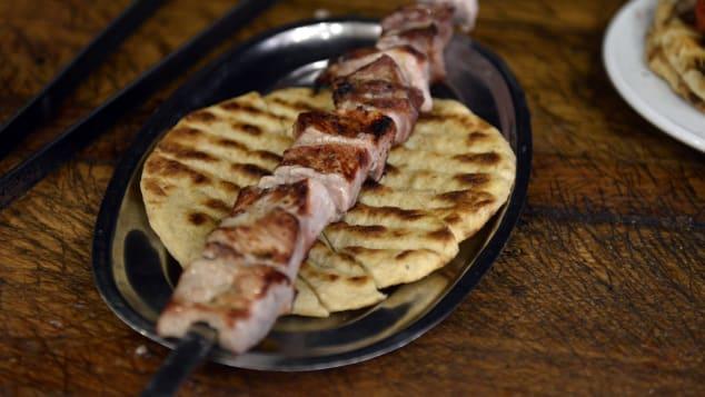 الطعام اليوناني LOUISA GOULIAMAKI وكالة فرانس برس Getty Images