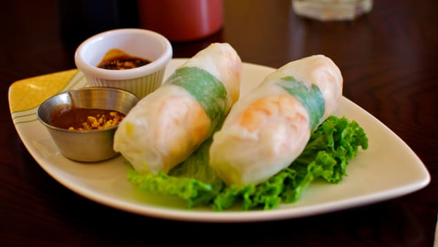 A healthier choice for spring roll fans.