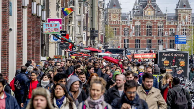 Amsterdam wants tourists to pay their way.