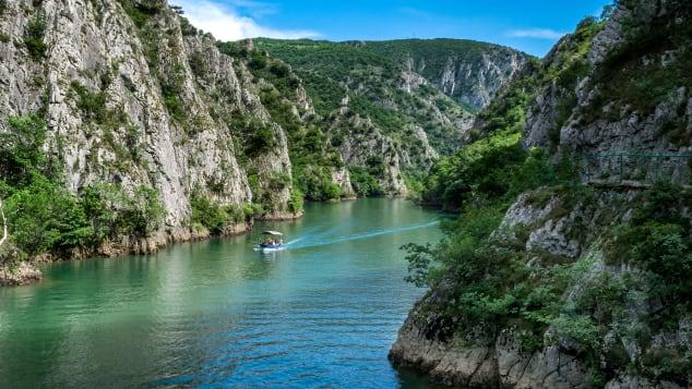 Canyon Matkaはマケドニアで一番美しい場所の1つです。