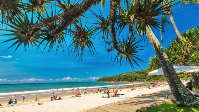 The beaches at Noosa in one word: lovely. This south Queensland city is worth a visit.