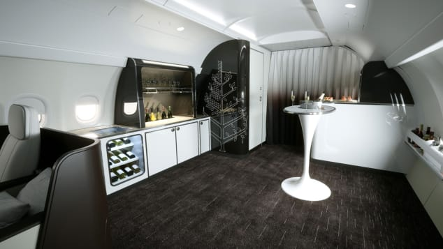 Four Seasons new private jet