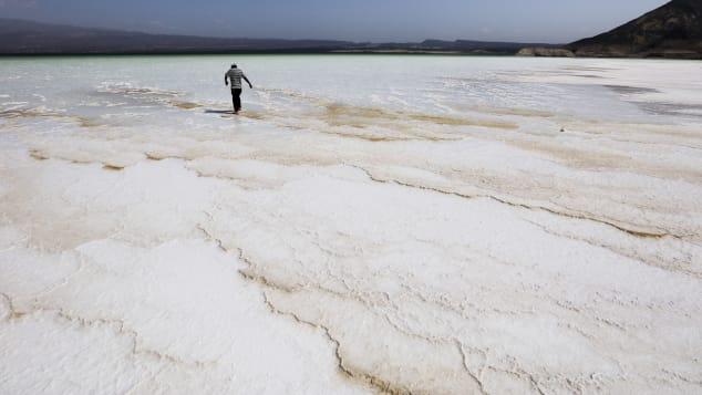 Djibouti's landscape can seem otherworldy.