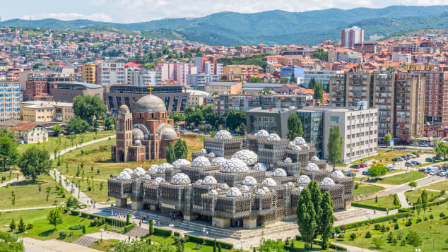 Kosovo's capital is a quirky city with plenty to see and do.