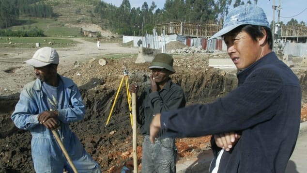 China has invested billions of dollars in Ethiopia's infrastructure.