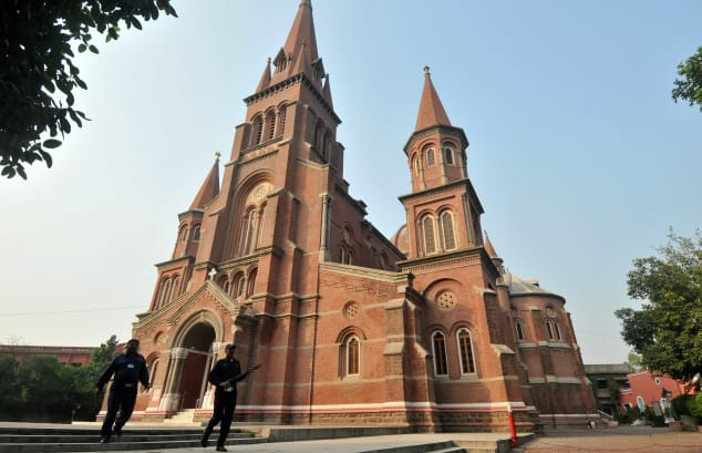 Sacred Heart Cathedral church in Lahore