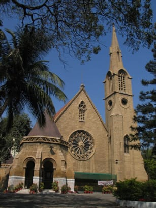 Karachi St. Andrew's Church RESTRICTED