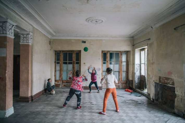 Three generations of families now call the Tskaltubo sanatoriums home.