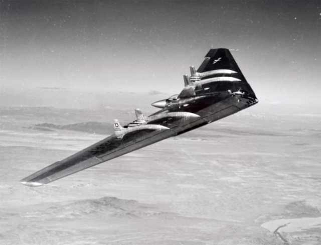 A YB-49 prototype aircraft in 1950.