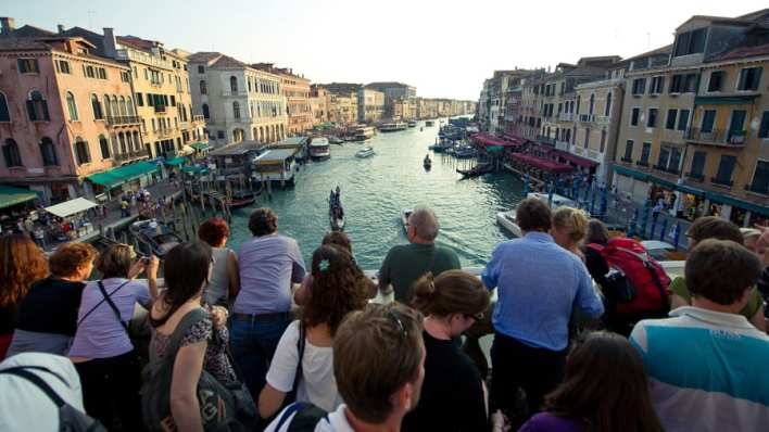 Image result for tourist in venice