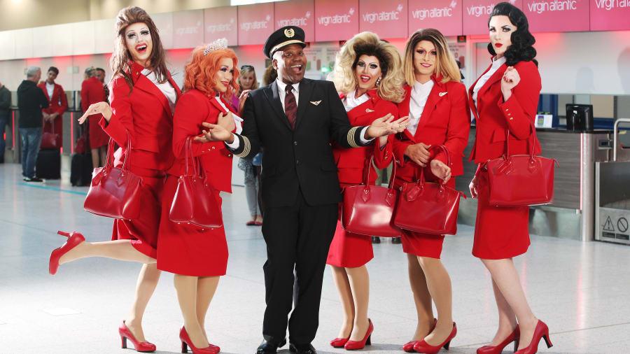 Virgin Atlantic lgbt ile ilgili görsel sonucu