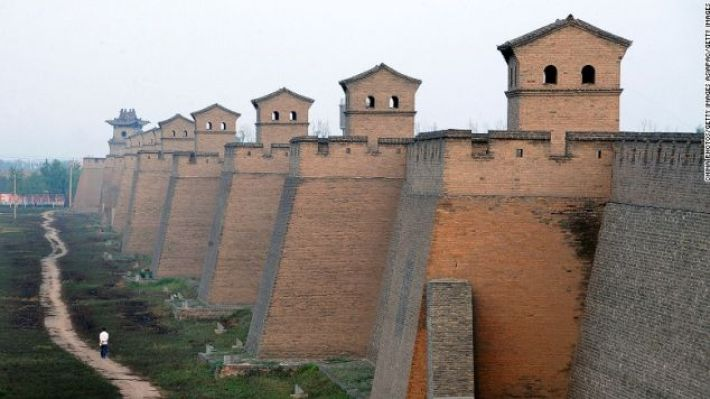 Pingyao is a wonderfully well-preserved example of a 14th century Chinese city.
