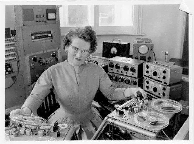 La place des femmes dans la musique électronique : Daphne Oram