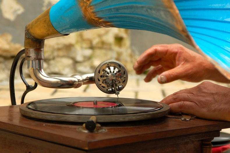 Image d'un gramophone