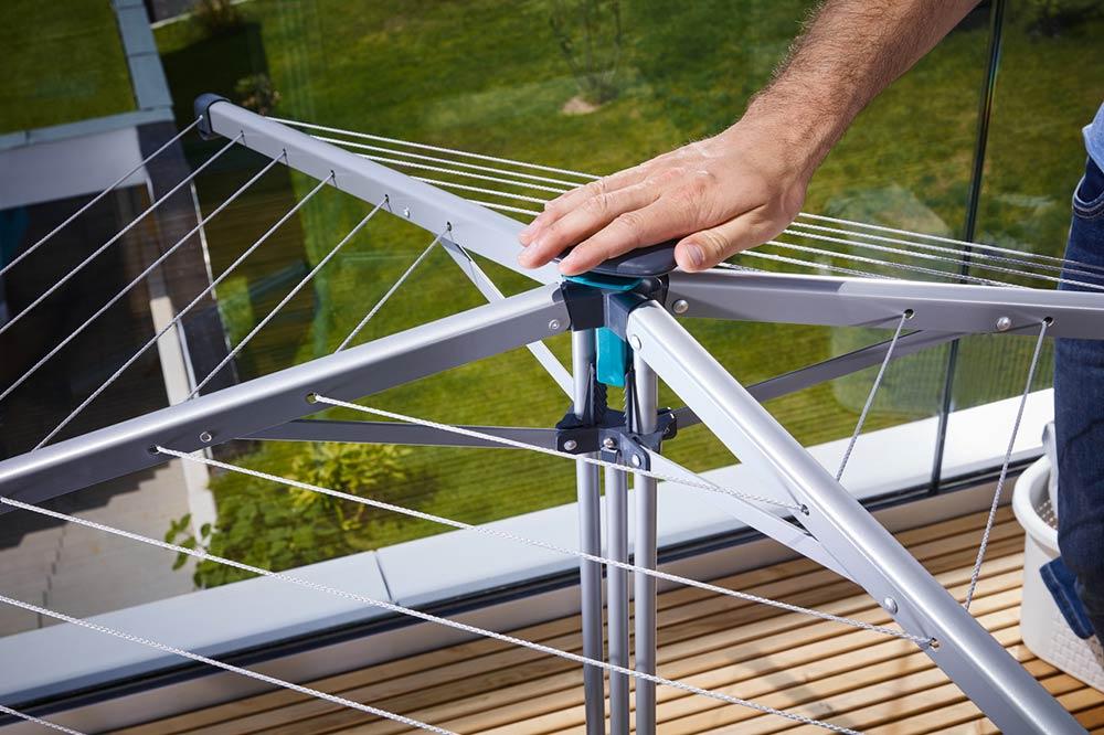 Linopop Up Le Sechoir Parapluie Compact Mobile Et Efficace