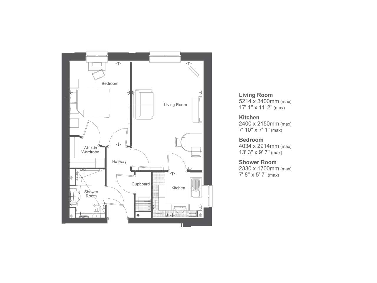 retirement property typical 1 bedroom from for 166 999 in