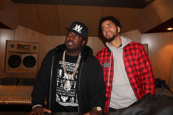 J. Cole and Bay Bay from K104