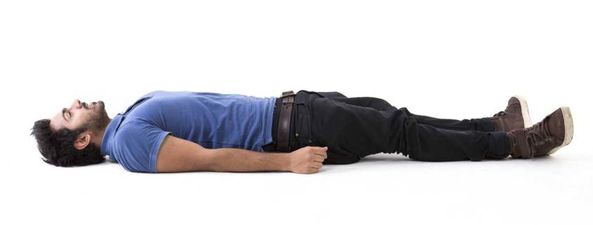 hydraulic recovery of the cervical discs through lying down