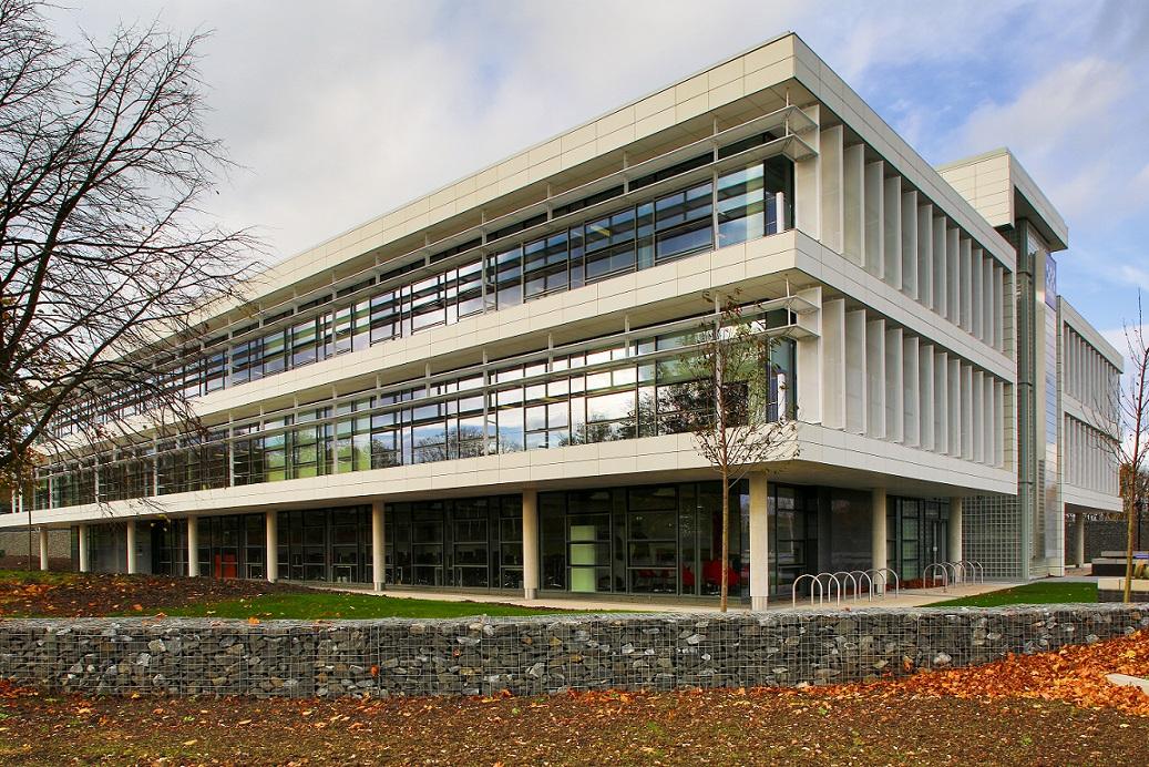 Police Headquarters, Durham - TI Egineered Ston reconstituted stone cladding