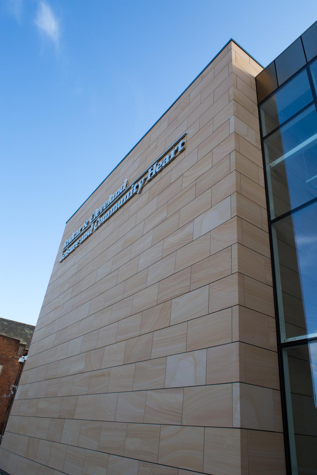 Redcar Leisure Centre Stone