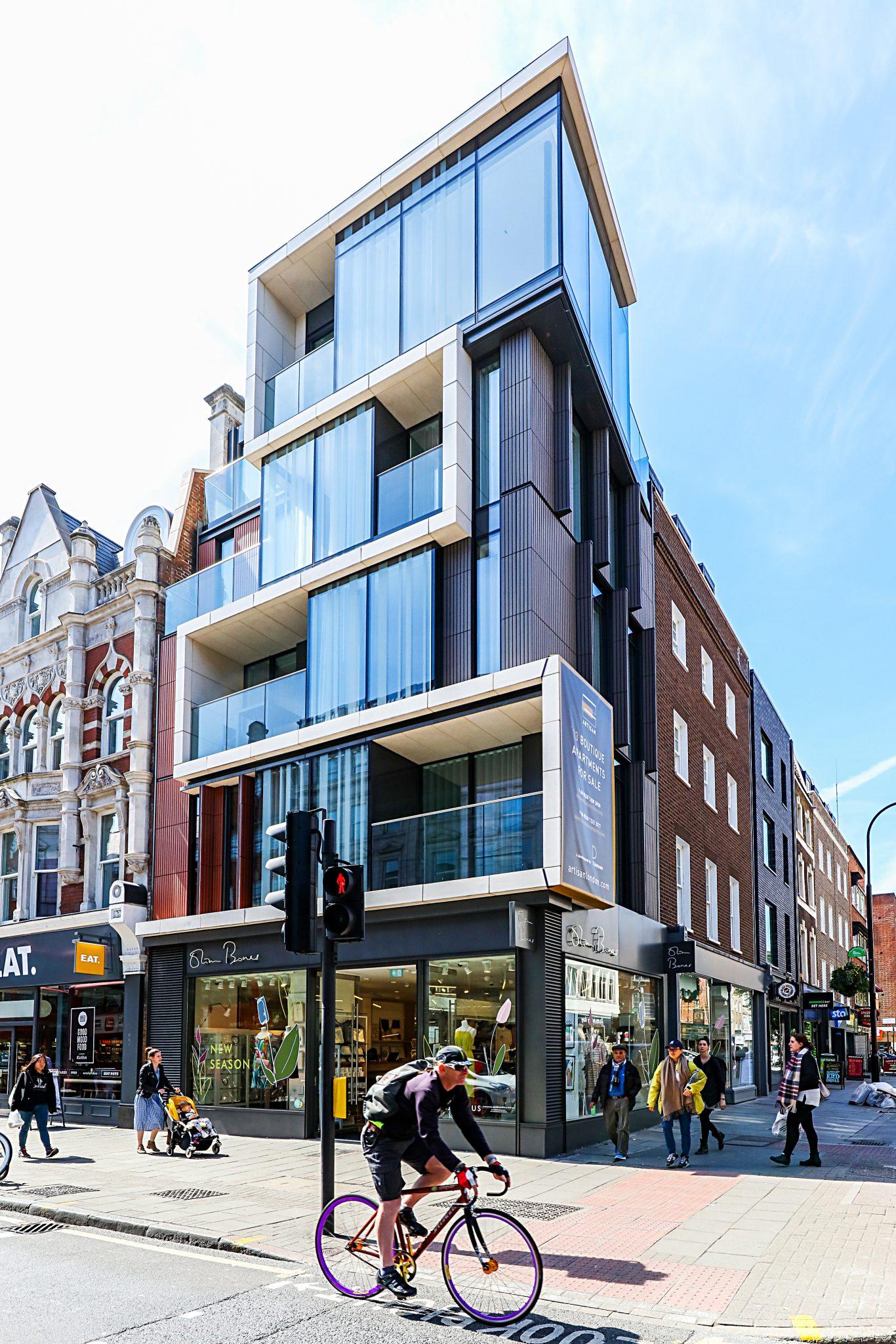 Tottenham Court Road Aerolite Stone