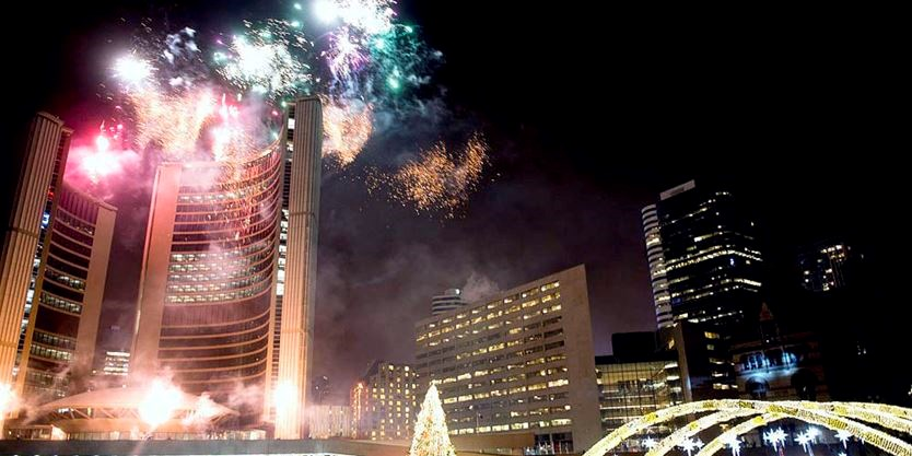 8 things to do New Year s Eve and New Year s Day in Toronto     New Year s Eve in Nathan Phillip