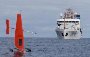 Sailing drone