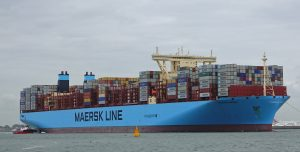 Madrid maersk (record ship of Antwerp)