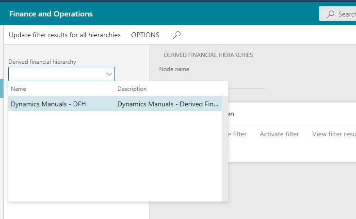 Select Hierarchy