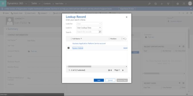Client API - lookupObjects | Dynamics Ninja