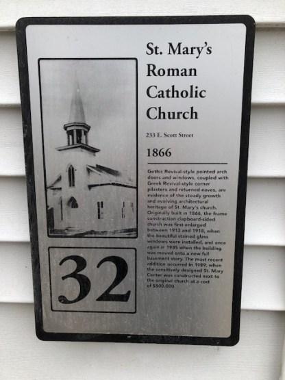 ChurchPlaque