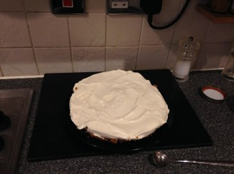 homemade cheescake