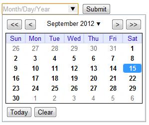 html5 input date