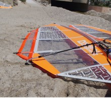 Kursutrustning Dynamic Windsurfingsegel L/XL med cambers