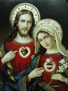 Mary&JesusTwoHearts