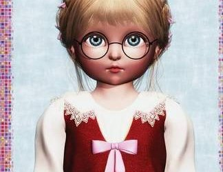 Book Review: Blue-Eyed Doll by Deanna K. Klingel