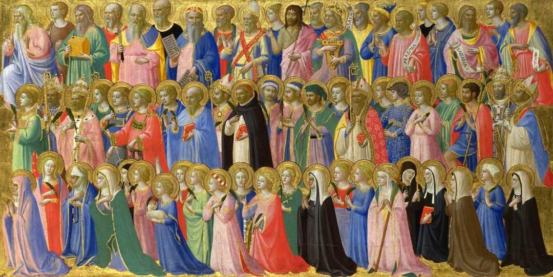 All saints in Heaven