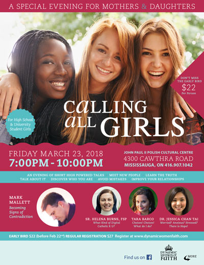 Calling All Girls 2017